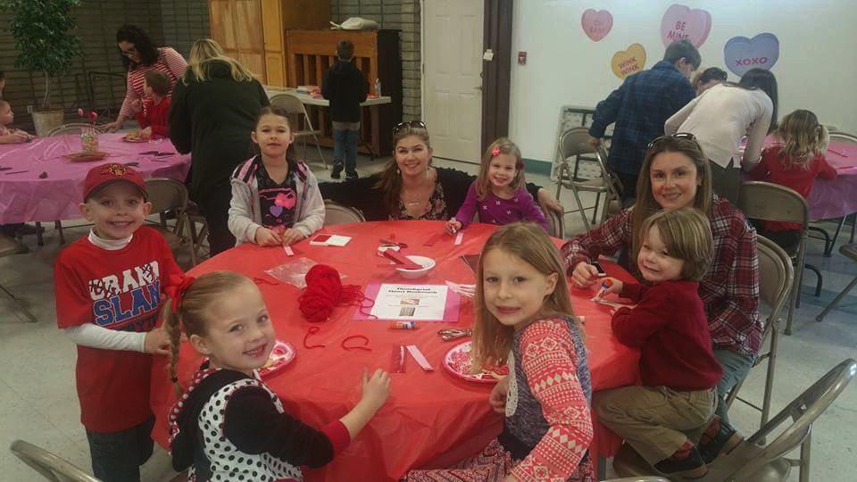 Livermore Moms Valenties Day Party 2016
